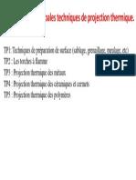 TP Projection Thermique