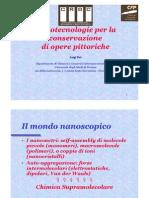 Dei, L. Nanotecnologie Consevazione Opere Pittorique
