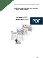 manual formular unic