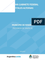 Informe Capitales Alternas - Rosario, Santa Fe 23-04-21