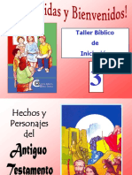 Taller Bíblico de Iniciación • Parte 4