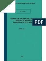 PE 119_Norme PM_instalati Electrice