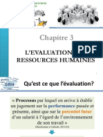 L'EVALUATION DES RESSOURCES HUMAINES