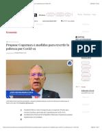 La Jornada - Propone Coparmex 6 medidas para revertir la pobreza por Covid-19