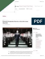 La Jornada - Renuncia Benjamín Huerta a relección como diputado