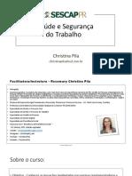 14 e 15.04 - Curso Saúde e Segurança do Trabalho_Apresentação em slides_Christina Pila