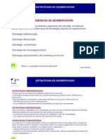 extrategia de segmentacion