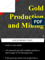 Gold Production and Mining
