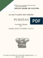 Al Mutamid Ibn Abbad. - Poesias [Bilingue] [1987]
