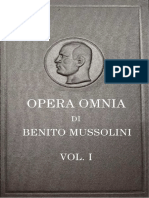 Susmel, E. & E. (Eds.) - Opera Omnia Di Benito Mussolini. Vol. I [Ocr][FS][1951]