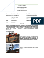 Informes Nuevos Riesgos Carro MGW 3045