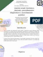 Diferenciación Sexual y Sus Trastornos