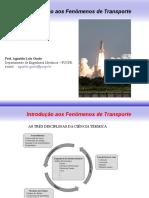 Aula TM344 - Introdução Aos Fenômenos de TransporteL