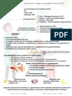 Organização e orientações para o estagio em psicologia clínica
