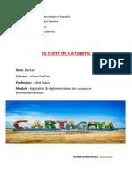 Le Traité de Cartagena.
