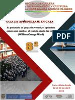 ABRÍL, GUIA DE TRABAJO EN CASA 8º-2021
