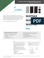 Daitem Scheda prodotto Sh275ax Sh276ax Sh277ax