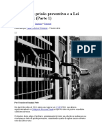 Espécies de prisão preventiva DELEGADO SANINI