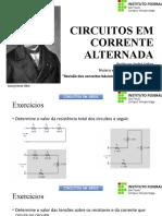 CEA (Aula 2) - Revisão de análise de circuitos