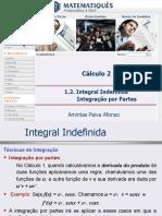 Unidade 01.2- Integral Indefinida- Integração Por Partes