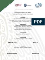 ACTIVIDAD 1. MAPA CONCEPTUAL SOBRE LOS MÉTODOS DE PRONÓSTICOS CUALITATIVOS Y CUANTITATIVOS