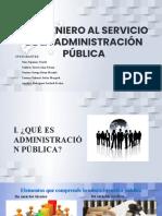 EL ING. AL SERVICIO DE LA ADMINISTRACION PUBLICA
