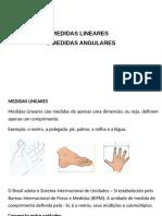 Medidas Lineares e Angulares- Parte 1