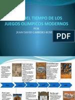 LINEA DEL TIEMPO DE LOS JUEGOS OLIMPICOS MODERNOS