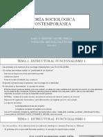 Tema1 El Estructural Funcionalismo