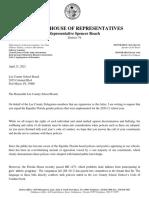 Lee County School Board Letter 04.23