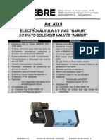 4519 electroválvula