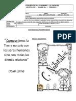 TALLER CIENCIAS NATURALES LOS SERES VIVOS