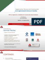 ACIEM Reglamentos Técnicos, NSR-10 Germán Flechas