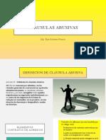 EXAMEN - CLAUSULAS ABUSIVAS