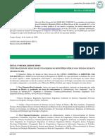 Edital nº 001.2020 do XXIII-PSE-MPMS - DOMP 2309