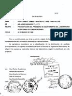 1998 Proyecto del Laboratorio de Sisrtemas de Comunicaciones