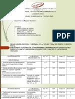 programa de auditoria tributaria