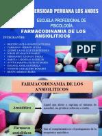 Farmacodinamia de Los Ansioliticos