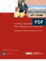 Creating Opportunity for Micro Businesses in Central Asia
