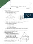 Matemática - Geometria - Ficha de Trabalho nº3