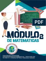 MVBA011 - MODULO DE MATEMATICAS 2