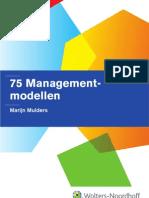 75 management modellen