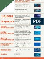 Infografía - Instrucciones Tipo Salto Del Lenguaje Ensamblador
