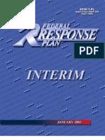 2003 Federal Response Plan