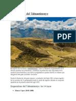 Los 14 incas del Tahuantinsuyo