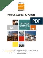 Catalogue IAP 2021
