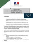 Convocatoria Bourses Pour Medecins 2011