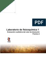 Practica 4 Evaluación Cualitativa Del Calor de Disolución