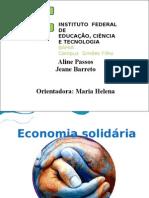 Economia Solidária Apresentação 2007