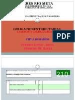 Costos y Deducciones - Pedro Pablo